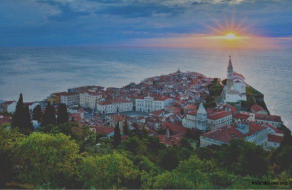 Panoramic Slovenian Coast